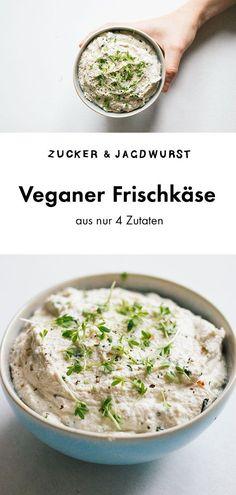 Veganer Frischkäse Zucker&Jagdwurst vegan recipes for comfy food Quick Vegan Breakfast, Breakfast Desayunos, Vegan Breakfast Recipes, Vegetarian Recipes, Sausage Breakfast, Vegan Cream Cheese, Sour Cream, Cashew Cream, Easy Meals