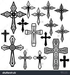 various cross designs