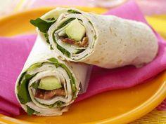 Wrap de tocino con aguacate para desayunar | ActitudFEM