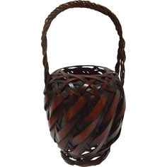 Ikebana Basket Japanese from Antiques of River Oaks on Ruby Lane $225 - Questions Call: 713-961-3333