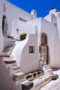 Emporio village, Santorini, Greece