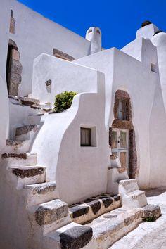 Emporio village, Santorini, Greece