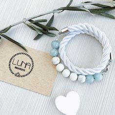 LUNA bracelet - Сloud в магазине «LUNA bracelets» на Ламбада-маркете