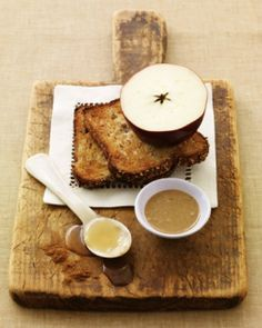 Apple, Peanut Butter, and Honey Sandwich: Great recipes and more at http://www.sweetpaulmag.com !! @Sweet Paul Magazine