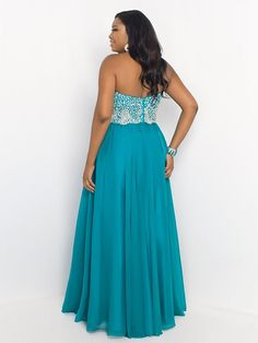 A-Line/Princess Sweetheart Floor-length Beading Sleeveless Chiffon Plus Size Prom Dresses