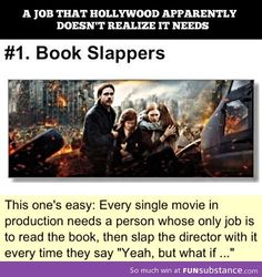 Book slappers- I want this job *cough cough* Hunger games Percy Jackson<-- PJO