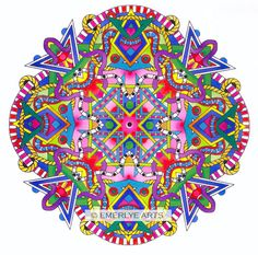 Cover Design for Set 2 in my Mandalas line of Adult Coloring Pages at EmerlyeArts.com