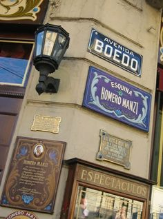 San Juan y Boedo, esquina de tango....