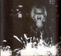 Marilyn photographed on her last birthday, 1962.