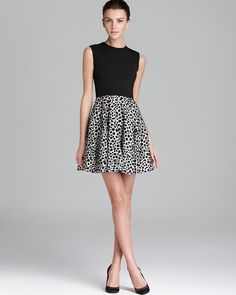 Pattern: DIANE von FURSTENBERG Dress - Jeannie Leopard Dots | Bloomingdales