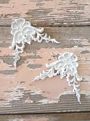 Shabby Architectural Carved Corners (set of 2)