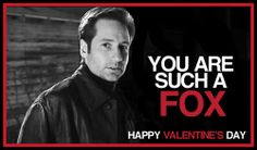 X Files valentines