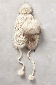 trapper hat #winterfashion #anthrofave