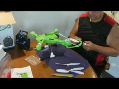 How To Assemble The JJRC H26 Rc Quadcopter