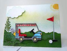 Tasty Trucks Golf Cart
