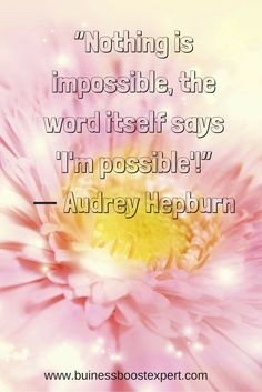 Nothing is impossible. #Quote #Inspiration