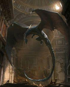 Dragon Fantasy Myth Mythical Mystical Legend Dragons Wings Sword Sorcery Magic Mark Matte post