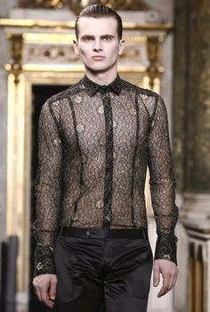 Men's sheer shirt by lexus-rx300, via Flickr