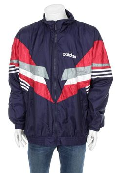 173 Best Vinatge Adidas Images In 2019 Windbreaker Adidas Navy Blue
