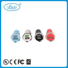 Single mini usb car charger 5V 2.1A Unit price:US$1.57