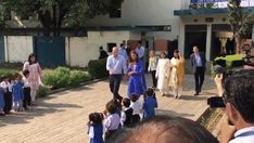 The Duke and Duchess of Cambridge leave after a visit at Islamabad Model School for Girls on the first full day of Duke And Duchess, Duchess Of Cambridge, Model School, Janet Jackson, Moving Pictures, Keep Up, Present Day, Johnny Depp, Prince William