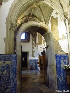 Interior do Mosteiro de Santa Cruz
