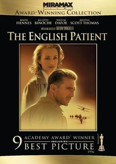 """The English Patient"" (1996) by Anthony Minghella. At the close of WWII, a young nurse tends to a badly-burned plane crash victim. His past is shown in flashbacks, revealing an involvement in a fateful love affair. Trailer by IMDB."