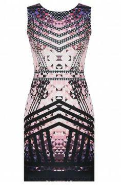 Kjole med print! Masser af nyheder fra DK's billigste, bedste online mode butik <3 www.youshoe.dk