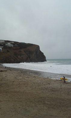 Porthtowan Beach in Porthtowan, Cornwall