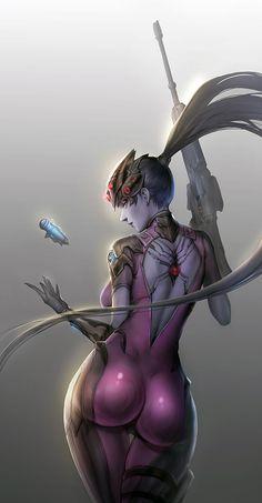 Widowmaker,Overwatch,Blizzard,Blizzard Entertainment,фэндомы,Overwatch art