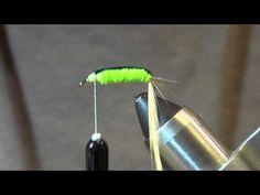 Fly tying the Catawba Worm - YouTube
