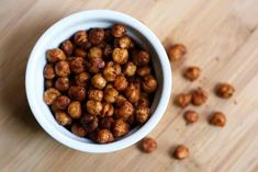 Roasted chickpeas? YES. Loving this article on 12 Healthy DIY Travel Snacks To Bring On APlane. We'd eat any of these. Except maybe the boiled eggs, spare your neighbors on this one.