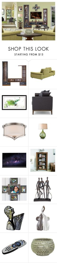 """""""FEELS LIKE SUNDAY MORNING"""" by arjanadesign ❤ liked on Polyvore featuring interior, interiors, interior design, home, home decor, interior decorating, Baxton Studio, Danze, Samsung and Savoy House"""