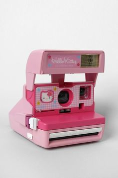 Polaroid 600 Close-Up Hello Kitty Camera By Impossible Project #urbanoutfitters
