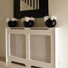 radiator screen from home depot projects diy pinterest on the side hutch ideas and cabinets. Black Bedroom Furniture Sets. Home Design Ideas