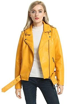 afc17059657 39 best Leather Jackets for Women images on Pinterest in 2018