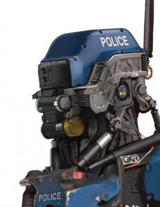 Elysium Concept Art - Police Robot