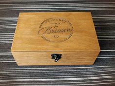 Personalized wooden box Мemory box Custom by YouCanMAKEitPERSONAL