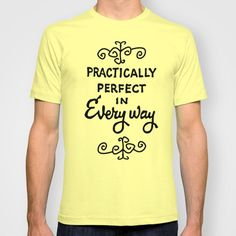 practically perfect in every way. unisex sizing by studiomarshallgifts on Etsy