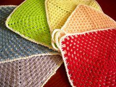 Presine 100% cotone filo di scozia di CrochetLacesAndMore su Etsy