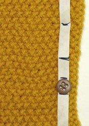 How to place buttonholes evenly - Knitting Daily - Knitting Daily