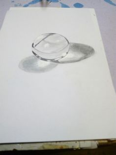 A painting of crystal ball made by me