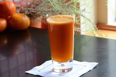 GOLDEN-BEET CARROT JUICE - Make this first thing in the morning to jump-start your day with healthy goodness.
