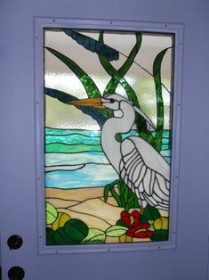 Heron - Delphi Stained Glass