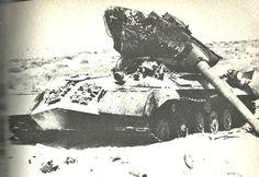 Destroyed Egyptian IS-3M near Rafah, Six Day War, June 1967