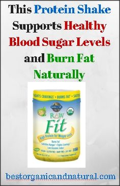 With the power of Svetol Green Coffee Bean Extract, RAW Food Created Chromium, Organic Cinnamon, and Organic Sprouted Grains, this protein shake supports healthy blood sugar levels and burns fat naturally. It helps building lean muscle mass and repairing...continue reading by clicking here --> http://bestorganicandnatural.com/health-fitness/weight-loss/this-protein-shake-supports-healthy-blood-sugar-levels-and-burns-fat-naturally/