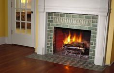9 Stupefying Ideas: Open Fireplace Dream Homes fireplace mirror midcentury.Old Fireplace Decoration fireplace design furniture placement. Tile Around Fireplace, Tv Over Fireplace, Fireplace Tile Surround, Fireplace Bookshelves, Fireplace Hearth, Marble Fireplaces, Fireplace Surrounds, Fireplace Design, Tiled Fireplace