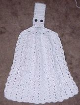 HANGING DISH TOWEL Crochet Pattern - Free Crochet Pattern Courtesy of Crochetnmore.com I put this dish towel here because it is a mate to the dishcloth in the video tutorial. The dishcloth is very easy to do.