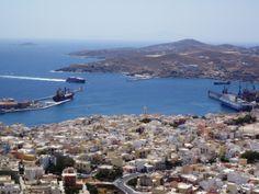 syros town view