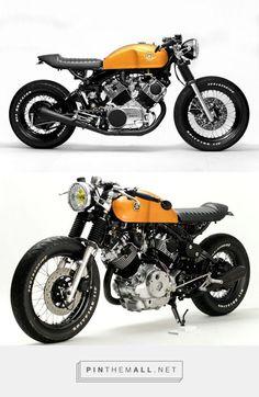 This Is What Happens When Hageman Cycles Customizes a Yamaha Virago Virago Cafe Racer, Yamaha Cafe Racer, Yamaha Virago, Moto Bike, Cafe Racer Motorcycle, Women Motorcycle, Motorcycle Gear, Custom Bikes, Custom Motorcycles